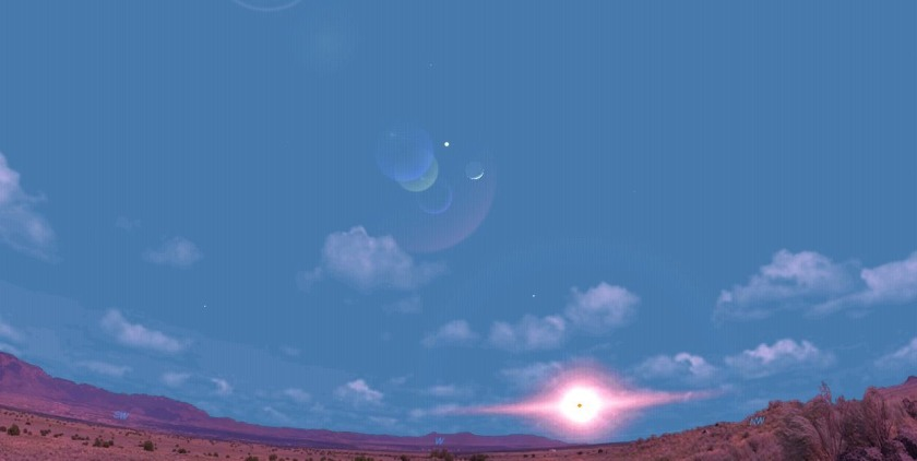 Venus ve ay 19 Mayis copy