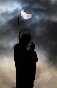 Mideast Lebanon Solar Eclipse