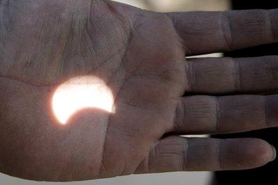 Mideast Jordan Solar Eclipse
